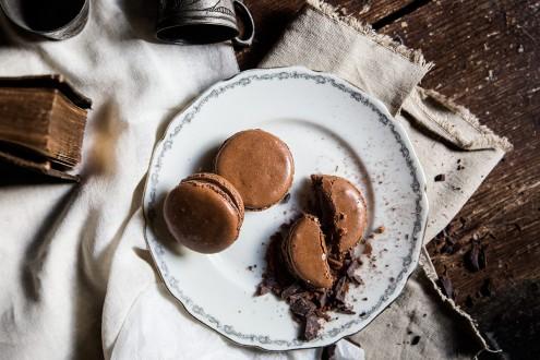 Bitter-chocolate-macaron 6