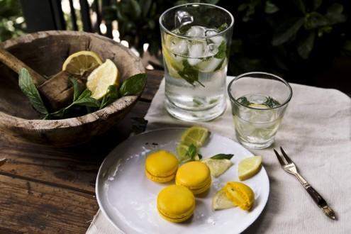 Lemon macaron 1