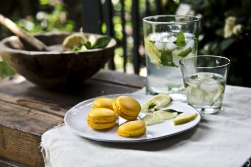 Lemon macaron 3
