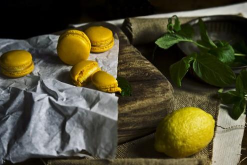 Lemon macaron 4