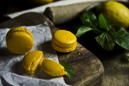 Lemon macaron 5