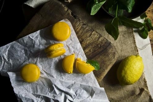 Lemon macaron 6