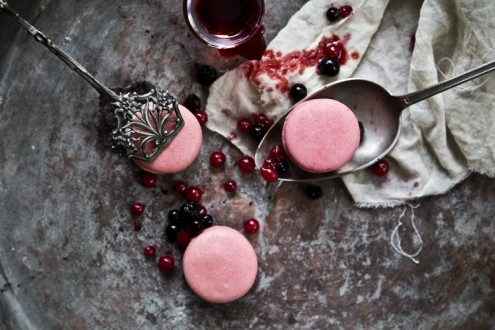Macaron forest fruits 5
