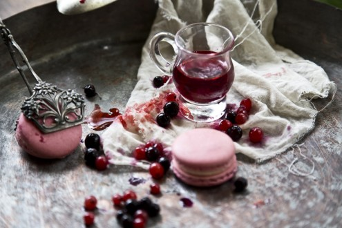 Macaron forest fruits 7