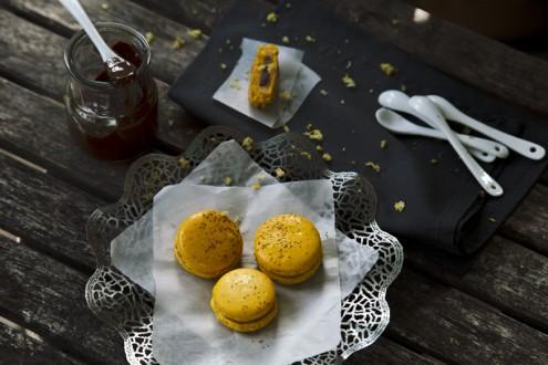 Macaron lemon - chocolate 1