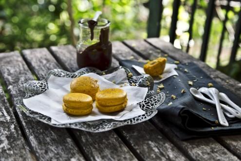Macaron lemon - chocolate 2