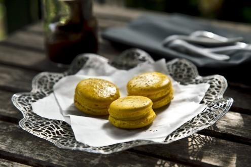 Macaron lemon - chocolate 4