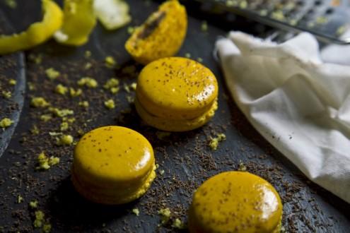 Macaron lemon - chocolate 5