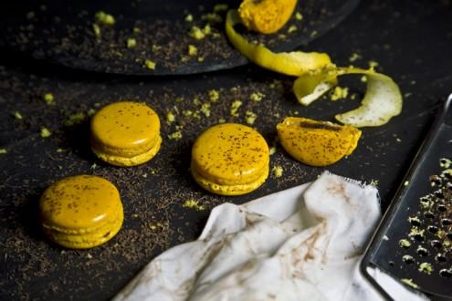 Macaron lemon - chocolate 9